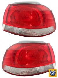 Фонар зовнішній задній VW Golf VI 2009-2012