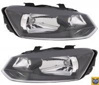Фара Volkswagen Polo 5 2009+ (С экраном лампы)