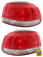 Фонарь внешний задний VW Golf VI 2009-2012