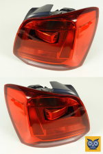 Фонар задній VW Polo 2009-2014