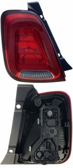 Задний фонарь Fiat 500 (312) 2015+