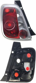 Задний фонарь Fiat 500 (312) 2007-2015